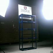 Стеллаж JERMUK. Торговое оборудование от BENDVIS Луганск