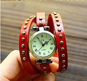 Стильные женские часы - браслет, 2 цвета , #218 Донецк
