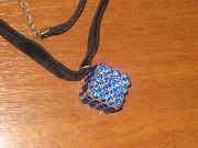 кулон подвеска Куб с кристаллами Луганск