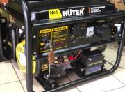 Бензиновый генератор HUTER DY6500LX (электростартер с пультом Донецк