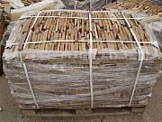 Нарезка фасадно-стеновая-торец из песчаника природного Красный Луч
