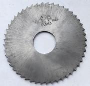 Фреза отрезная 100х2,5х27, Р6М5, тип 2, средний зуб (Z48) Макеевка