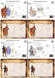 8 разных почтовых карточек - воин Донецк