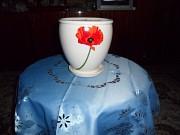 Продам цветочный горшок керамический,24х20 см!