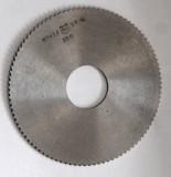 Фреза отрезная 100х2,5х27, Р6М5, тип 2, мелкий зуб Макеевка