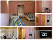 Номера (комната, кухня, сан.узел-в каждом) для отдыха в Крыму Алушта