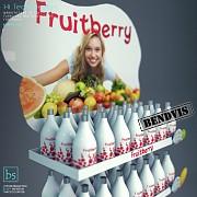 Торговый стенд Fruitberry от Bendvis Славянск