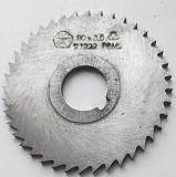 Фреза отрезная 80х3,5х22, Р6М5, тип 2, средний зуб, (Z32) Макеевка