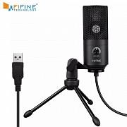 Микрофон-USB, студийный - FIFINE K669 + штатив, конденсаторный Донецк