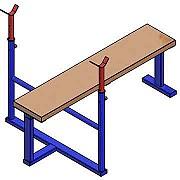 Документация для самостоятельного изготовления тренажёра для бодибилдинга (скамья для жима лёжа). Донецк