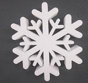 Снежинки из пенопласта Донецк