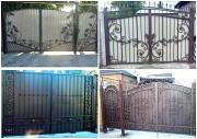 кованые ворота с калиткой все города ДНР
