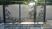 распашные ворота ДНР Донецк