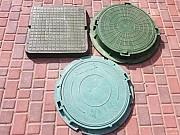 Люк пластмассовый канализационный (квадратный и круглый). Донецк