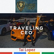 Tai Lopez - Traveling CEO - Businessowner Courses Cheap Москва