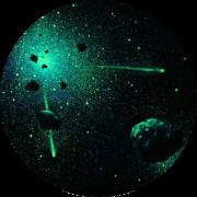 Звездное небо с помощью светящейся краски Acmelight Нефтеюганск