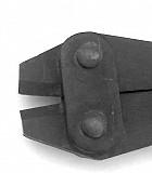 Кусачки рычажные для стальной проволоки и троса до 4 мм, с закаленной режущей головкой, СССР, длина Макеевка