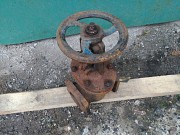 Задвижка водопроводная чугунная ДУ80 Ру10 Макеевка