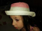 Модная шляпка на девочку 2-5 лет!