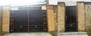 распашные ворота с калиткой Донецк
