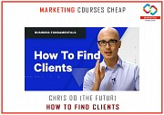 Chris Do (The Futur) - How To Find Clients - MARKETING COURSES CHEAP Москва