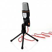 Микрофон-USB + штатив - SF-666, конденсаторный, настольный, студийный Донецк