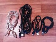 mini USB кабели, зарядное Стаханов