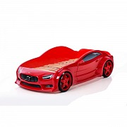 Кровать-машинка 3D с подсветкой фар