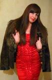 Шикарное нарядное красное платье р-р 40-42! Донецк