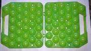 Переносной пластиковый лоток на 30 яиц. СССР. Стаханов
