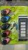 5 брелков и пульт ДУ для поиска ключей Super Key Finder