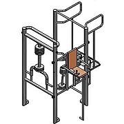 Документация для самостоятельного изготовления угловой тренажёрной группы - 3 тренажера для workout