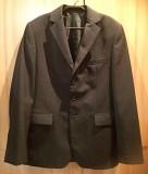Пиджак классический чёрный (176/100/86)