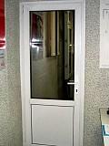 Межкомнатная металлопластиковая дверь+работа=7150 рублей. Донецк