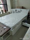 Кровать белая 1, 80 Донецк