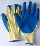 Перчатки хб, стекольщика, с рельефным латексным натур. покрытием, 13 класс Макеевка