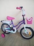 Велосипед Тетрис 14 ( 3-7 лет) фиолетовый Донецк