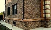 Облицовка фасада дома. Фасадные работы. Утепление стен. Донецк