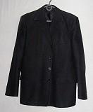 Пиджак черный однобортный. Цена 200 руб. Макеевка