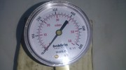 Манометр газовый низкого давления (60 mBar/ 600 mmH2O). Boldrin/ Italy. Стаханов
