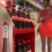 Торговая стойка Кока Кола. От производителя торгового оборудования Bendvis Луганск