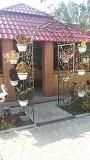 кованый садовый портал , садовая арка