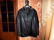 Мужская легкая кожаная куртка (натуральная кожа Донецк