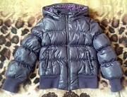 Куртка, пуховик Benetton на девочку 3-4 года Донецк